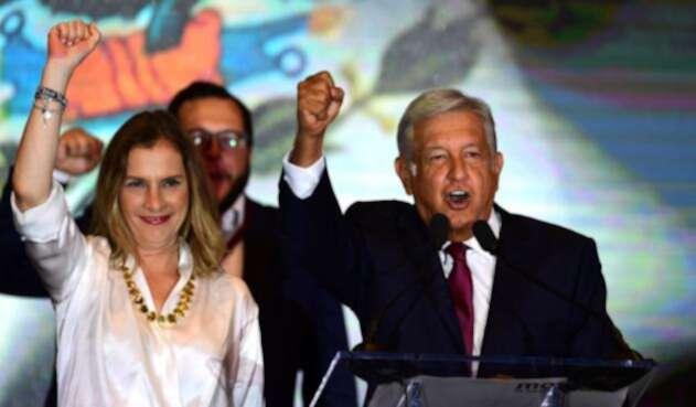 Beatriz Gutiérrez Müller, esposa del presidente de México Andrés Manuel López Obrador