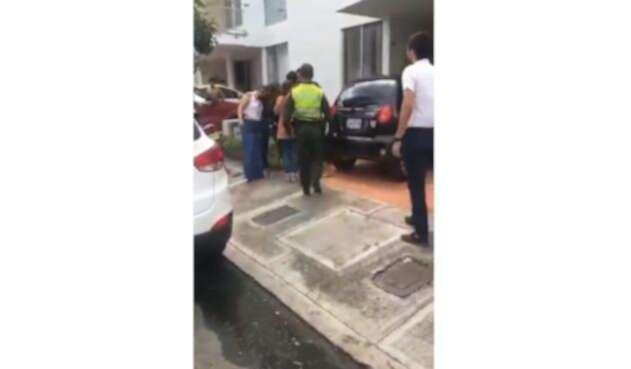 La brutal agresión a una mujer en Bucaramanga