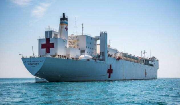 Buque hospital Estados Unidos