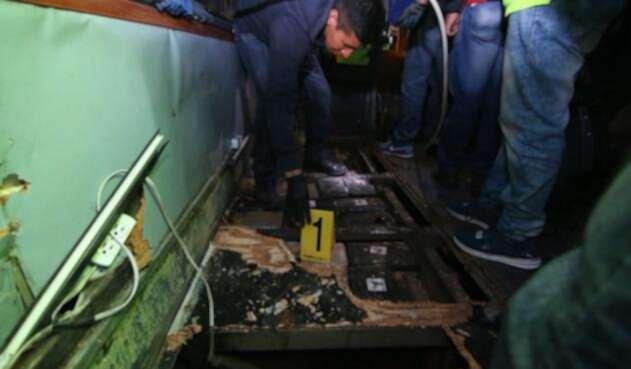 Bus accidentado en Ecuador