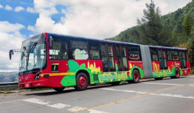 Bus eléctrico de Transmilenio