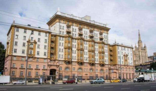 Embajada de EE.UU. en Moscú.
