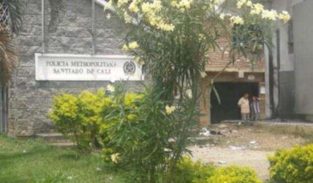 En el CAI de la Policía de Mojica se presentó el primer atentado.