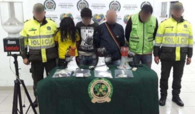 Capturados por chance ilegal en Bogotá