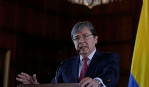 Carlos Holmes Trujillo, canciller colombiano.