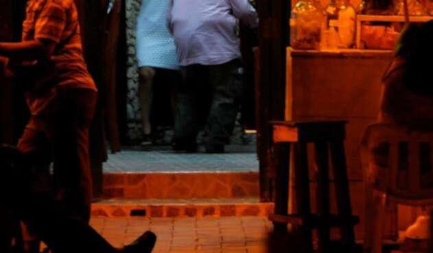 Una locación en Cartagena con aparente actividad de prostitución