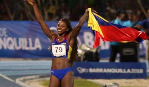 Caterine Ibargüen la reina del salto doble en Liga Diamante