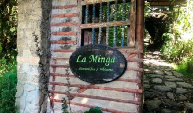 La casa de Pedro Medina en Choachí (Cundinamarca)