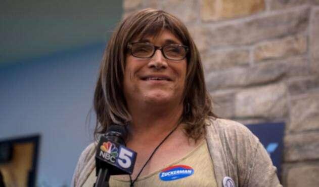 Christine Hallquist, candidata del Partido Demócrata a la gobernación del estado de Vermont