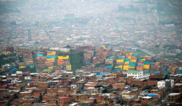 Ciudad Bolívar, en Bogotá