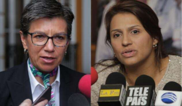 Claudia López y Paola Holguín