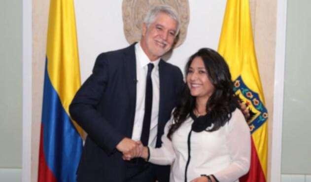 Claudia Puentes y Enrique Peñalosa