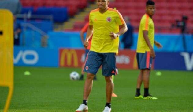 Carlos Bacca con la Selección Colombia
