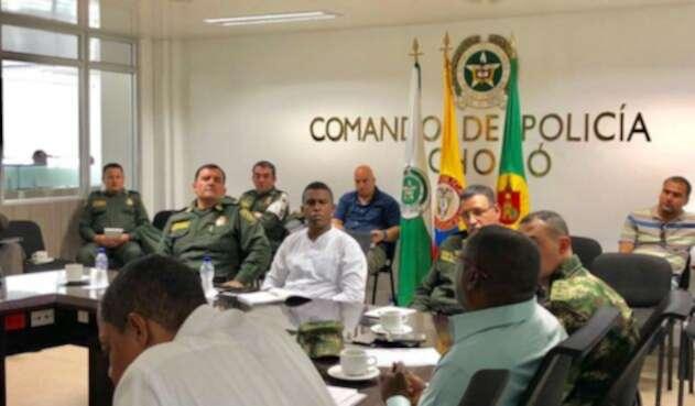 Autoridades adelantaron consejo de seguridad tras secuestros en Chocó