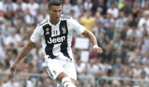 Cristiano Ronaldo, jugador de la Juventus de Turín
