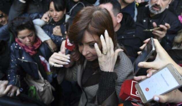 Cristina Fernández expresidenta de Argentina