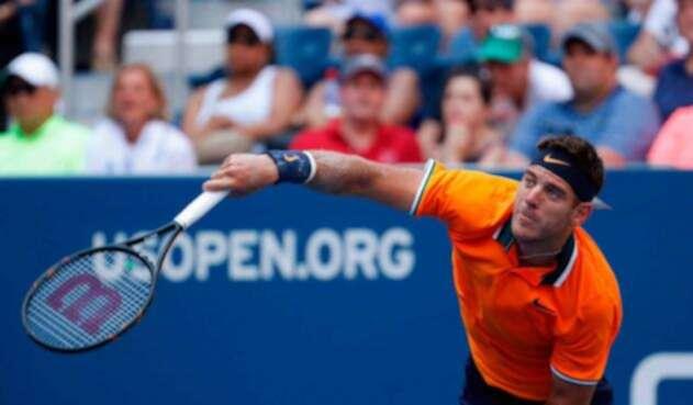 Juan Martín Del Potro en el US Open