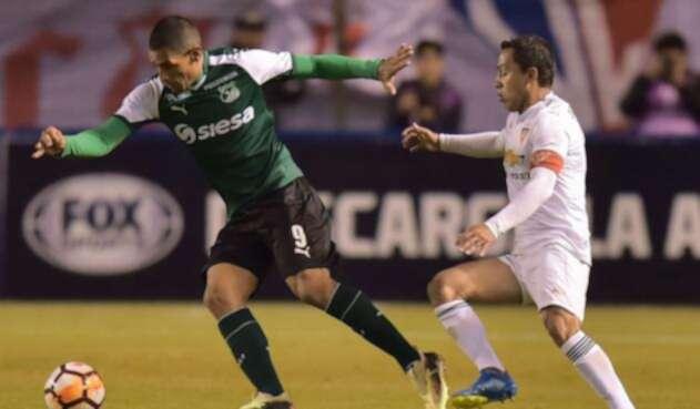 Liga de Quito vs Deportivo Cali.