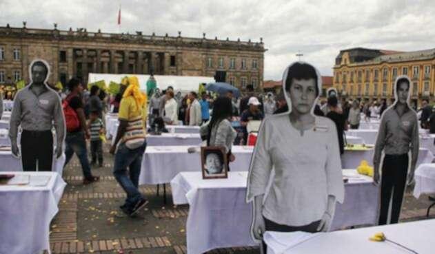 Desaparecidos en Colombia.