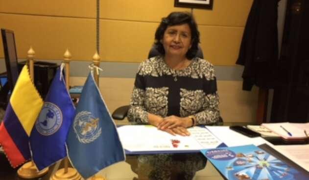 Directora de la Organización Mundial de la Salud Gina Tambini