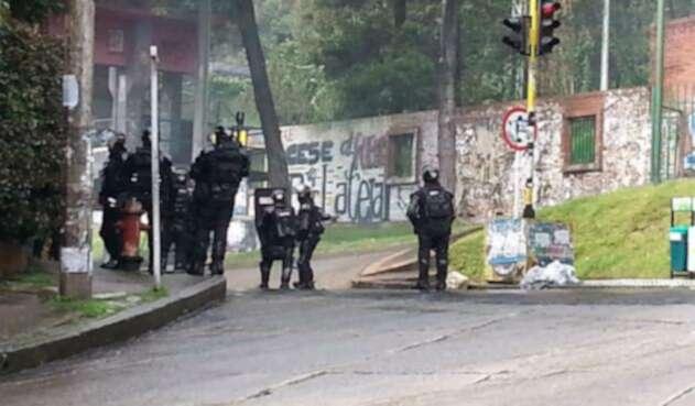 Disturbios en la Universidad Distrital