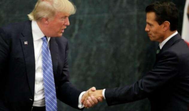 Donald Trump y Enrique Peña Nieto, el 31 de agosto de 2016 en ciudad de México