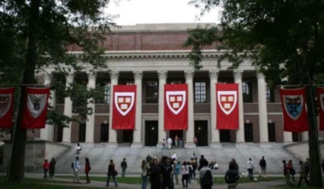 Campus Universidad de Harvard.