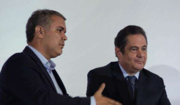 Iván Duque y Germán Vargas Lleras se enfrentaron en la campaña por la Presidencia