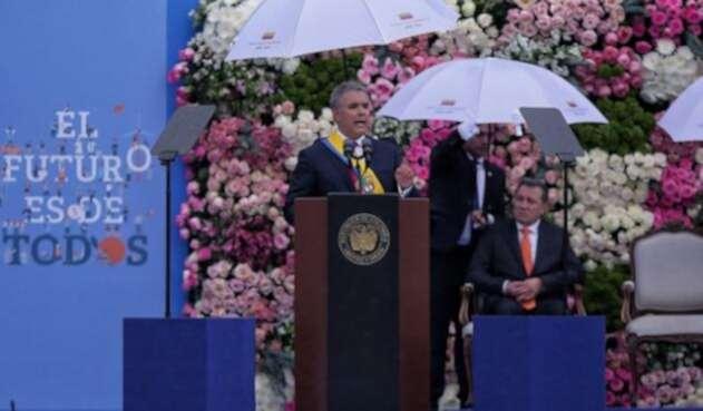Iván Duque tomó posesión como presidente este 7 de Agosto.