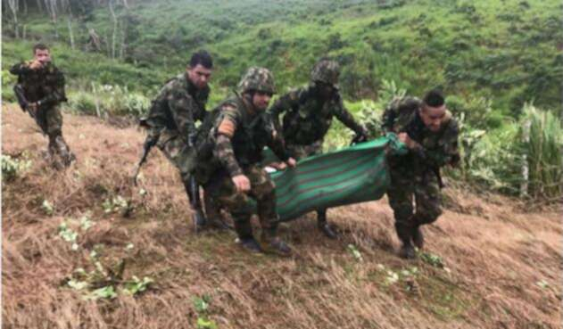 Combates en Cauca