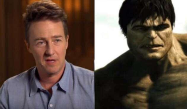 Edward Norton como 'Hulk'
