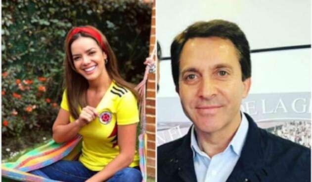 Elianis Garrido y Tommy Kamo.
