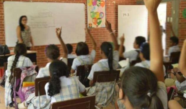 Estudiantes en zonas rurales.