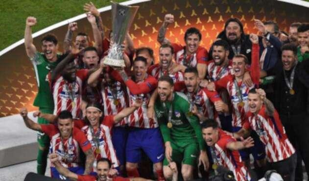 El Atlético de Madrid es el vigente campeón de la Europa League