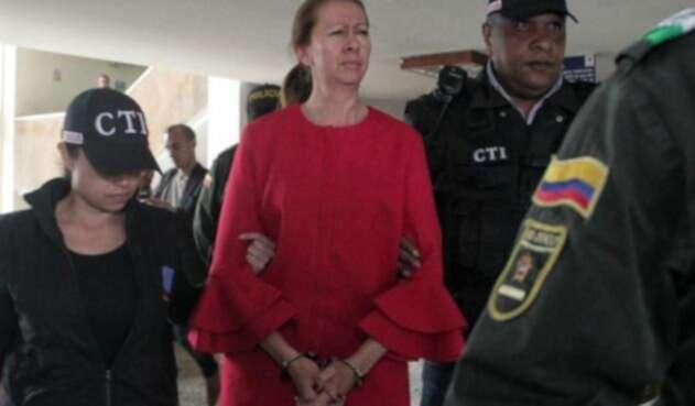 Bertha Cecilia Rueda Bossa, exesposa del propietario de Surtifruver.