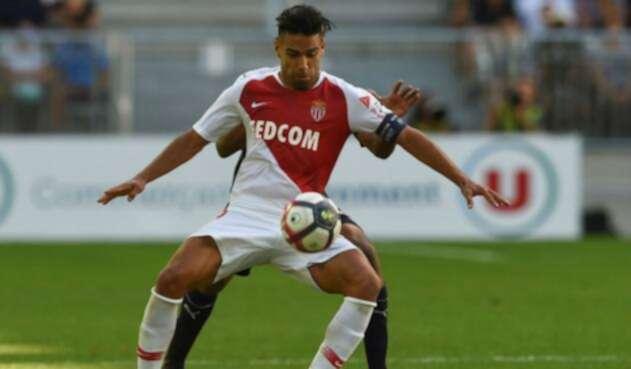 Falcao García, jugador del AS Mónaco