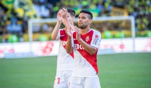Falcao García, jugador del ASMónaco