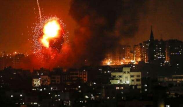 Bombardeos Franja de Gaza
