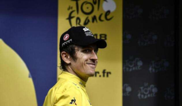 Geraint Thomas, ciclista británico, ganador del Tour de Francia 2018
