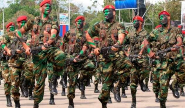 Militares de la Guardia Nacional Bolivariana