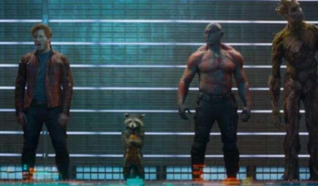 Escena de la primera parte de Guardianes de la Galaxia