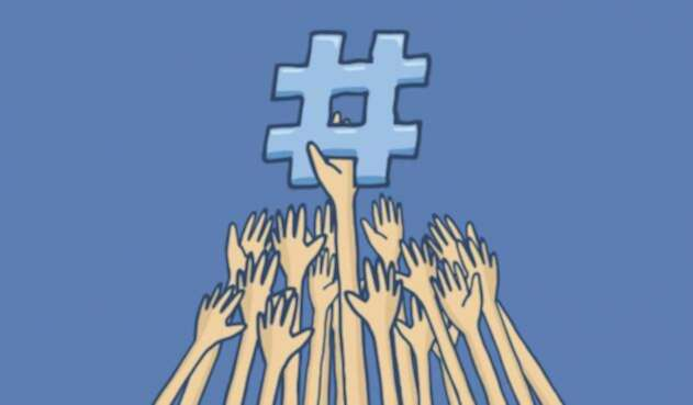 Hashtag de Twitter marcan la tendencia