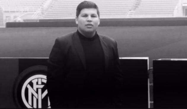 Henry Álvarez, colombiano fallecido en Italia