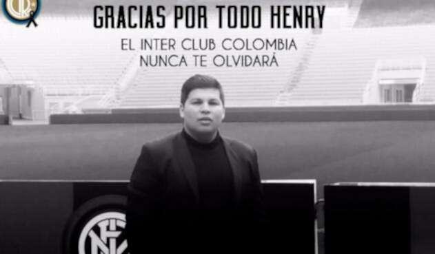 Henry Díaz, colombiano fallecido en caída del puente en Génova (Italia)