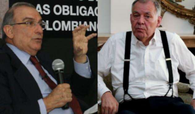 Humberto De la Calle y Alejandro Ordóñez, enfrentados por corridas de toros
