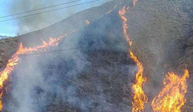 En Antioquia hay alerta por incendios forestales