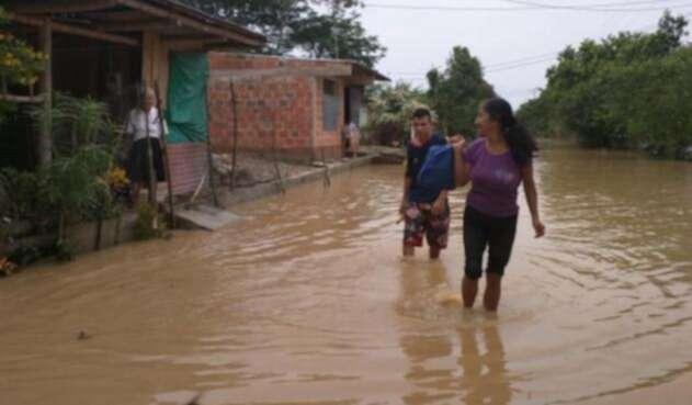 Inundación en Vichada.