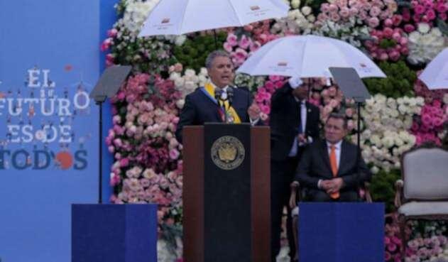 Iván Duque solo mencionó en una ocasión a Álvaro Uribe