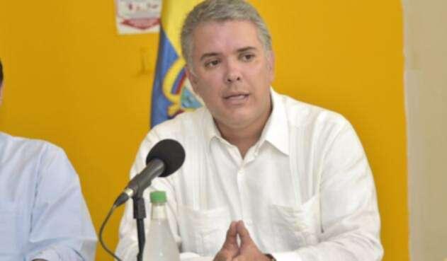 Duque en San Andrés