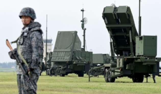 Japón misil